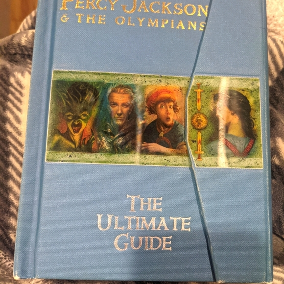 First edition Percy Jackson & the Olympians